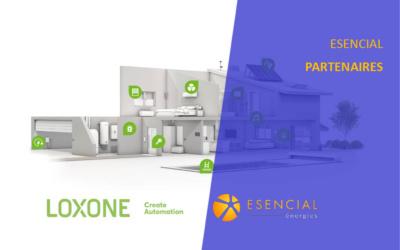 ESENCIAL énergies en partenariat avec LOXONE