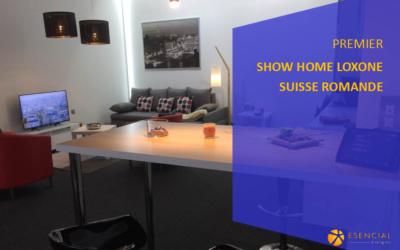 Premier showroom Loxone en Suisse romande